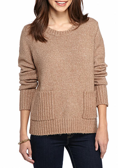 New Directions® Solid Brushed Pullover Sweater