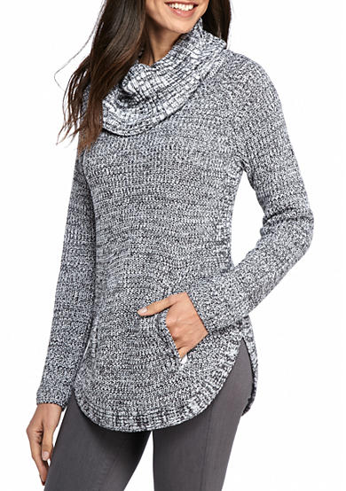 New Directions® Marled Raglan Sweater