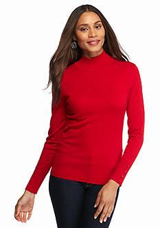 Melissa Paige Mock Neck Sweater