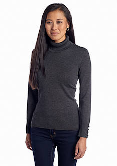 Spense Long Sleeve Turtleneck Top