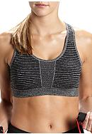 be inspired® Seamless Tonal Stripe Bra