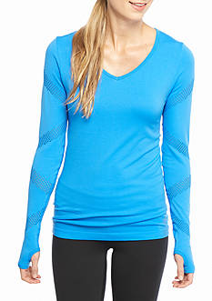 be inspired Open Work Seamless Active Tee