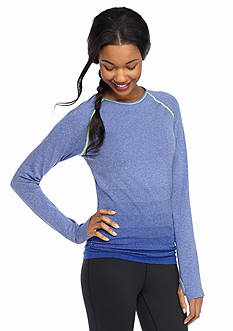 be inspired® Side Ruched Seamless Tee