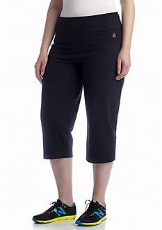 be inspired® Plus Size EDV Basic Capris