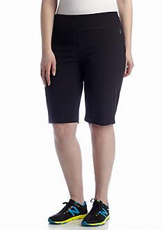 be inspired Plus Size Basic Knee Shorts