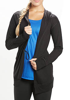 be inspired studio Long Sleeve Tunic Cardigan
