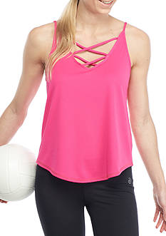 be inspired® Strappy Front Tank