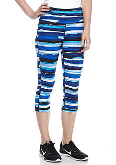 be inspired High-Waist Printed Capris