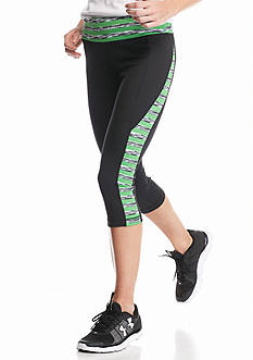 be inspired® Performance Capri With Printed Panel