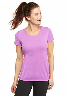 be inspired® Scoop Neck Heathered Tee