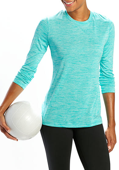 be inspired® Long Sleeve Scoop Neck Tee