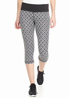 be inspired Perfect Fit Allover Print Capri Pants
