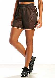 be inspired Two Tone Mesh Shorts