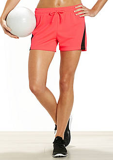be inspired® Side Inset Mesh Shorts