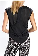 be inspired® Mesh Back Dolman Top