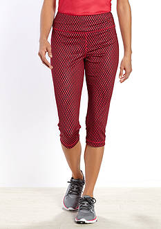 be inspired Slim Fit Performance Capri Pants