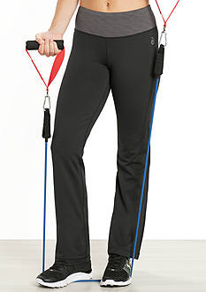 be inspired Striped Waistband Slim Leg Pants