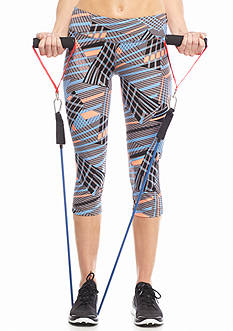 be inspired Printed Performance Capri Pants