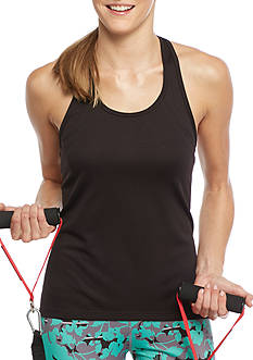 be inspired T-Back Mesh Tank Top