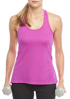 be inspired® T-Back Mesh Tank Top