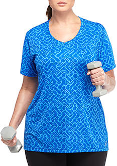be inspired® Plus-Size Core Printed Tee