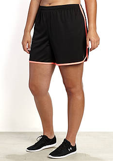 be inspired® Plus Size Tulip Hem Shorts