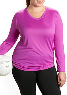 be inspired V Neck Tee Plus Size Tee