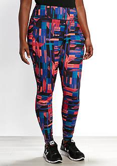be inspired Plus Size Print Performance Legging