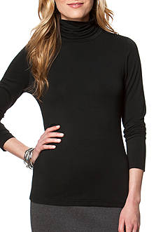 Chaps Jersey Turtleneck