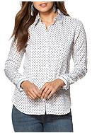 Chaps Non-Iron Floral Sateen Shirt