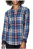 Chaps Plaid Twill Workshirt