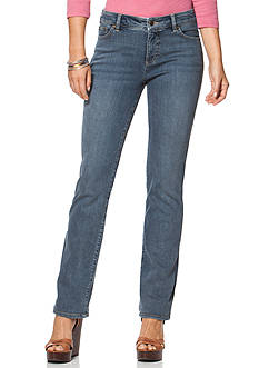 Chaps Salem Wash Stretch Straight Jean
