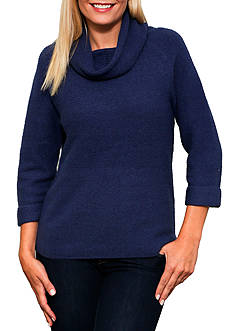 Leo & Nicole Cowl Neck Pullover Sweater