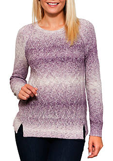 Leo & Nicole Long Sleeve Pullover Sweater
