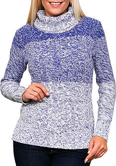 Leo & Nicole Long Sleeve Turtleneck Pullover Sweater