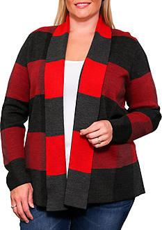 Leo & Nicole Long Sleeve Open Cardigan Sweater