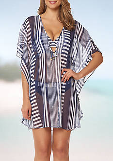 Bleu Rod Beattie Cruise Control Caftan Swim Cover Up