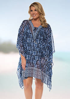 Bleu Rod Beattie Plus Size I've Got You Babe Caftan