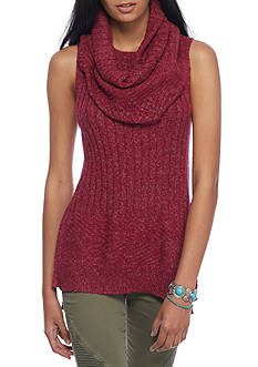 Red Camel® Tunic With Detachable Scarf