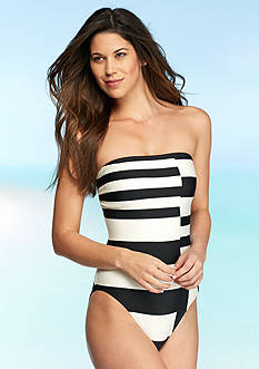 kate spade new york® Balboa Island Bandeau One-Piece