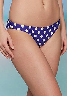 kate spade new york Polka Dot Classic Bikini Swim Bottom