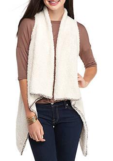 Taylor & Sage Shag Vest