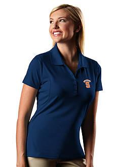 Antigua Syracuse Orange Pique Xtra Lite Polo