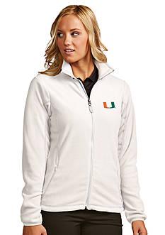 Antigua® Miami Hurricanes Women's Ice Jacket