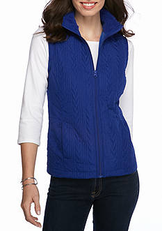 Kim Rogers Quilted Sherpa Lining Vest