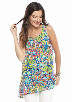 Melissa Paige Tutti Fruity Layered Tunic