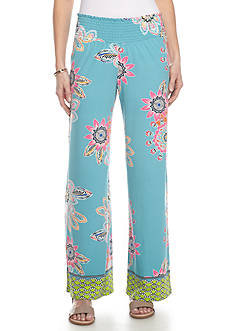 Melissa Paige Flirty Floral Soft Pants