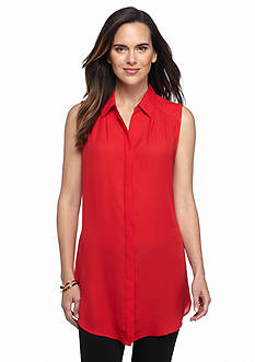Melissa Paige Extreme Button Up Tunic