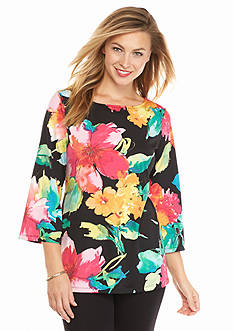 Melissa Paige Blooming Bouquet Tunic