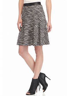 Melissa Paige Tweed Skater Skirt